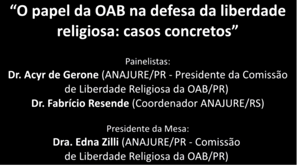 Painel OAB