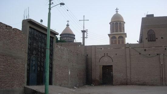 A igreja copta de Saint Tadros, na vila de Menbal, foi atacada por uma multidão após as primeiras acusações em julho. (Foto: World Watch Monitor)